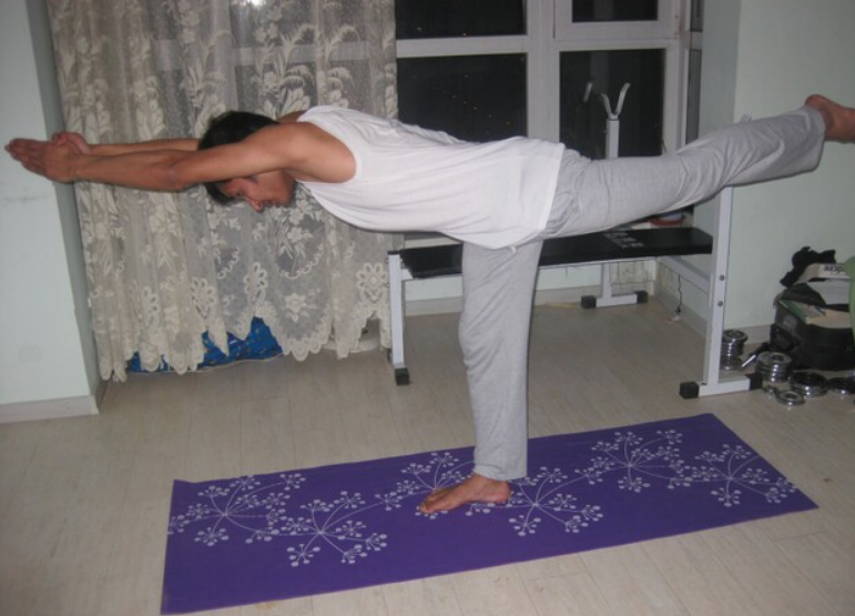Balancing Stick Pose - Tuladandasana