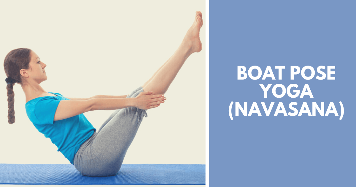 Boat pose yoga - Navasana