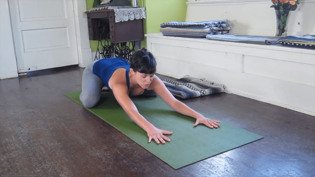 Child pose yoga - Balasana