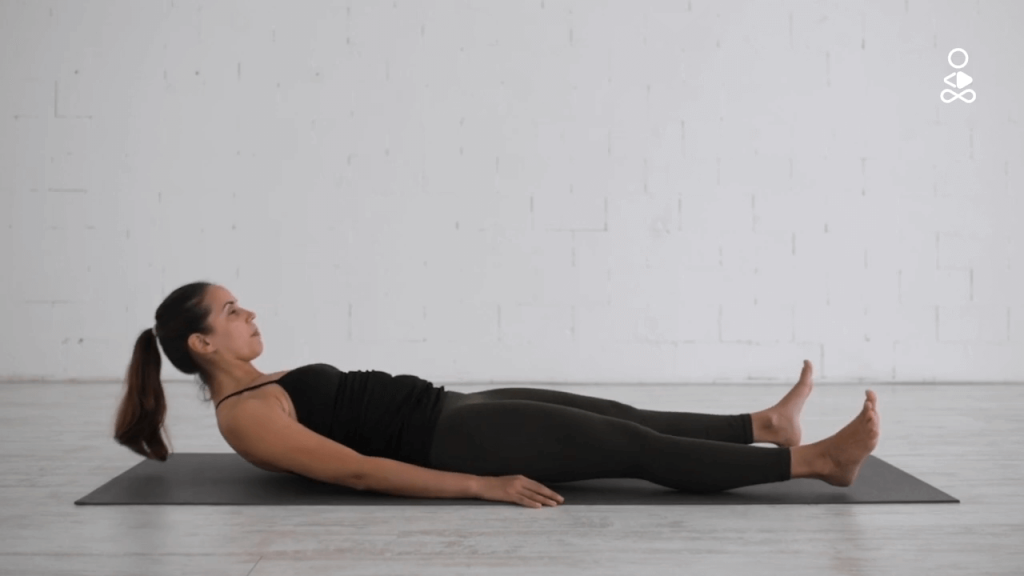 Corpse pose yoga - Shavasana