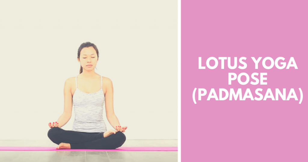 Lotus yoga pose - Padmasana
