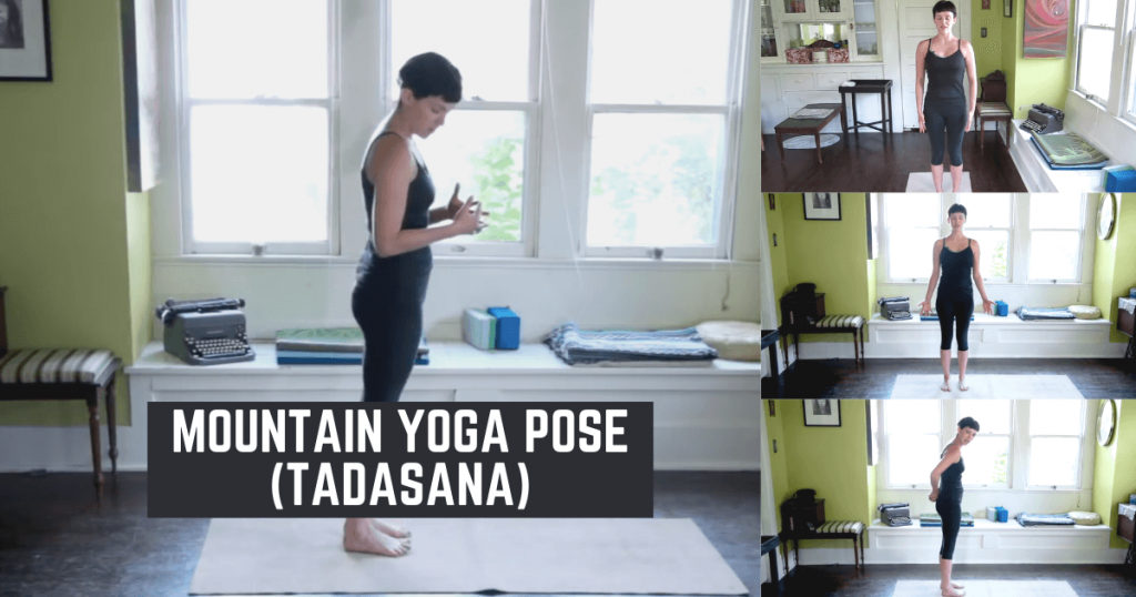Mountain yoga pose - Tadasana