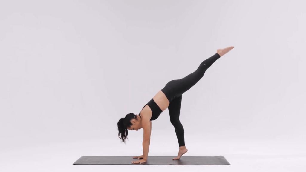 Scorpion pose yoga - Vrischikasana