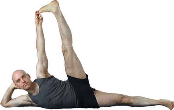 Side-Reclining Leg Lift - Anantasana
