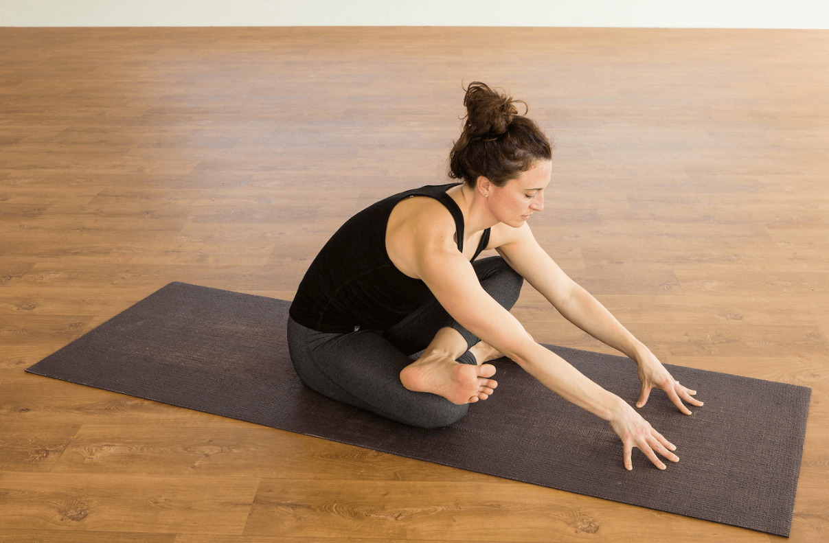 Yin Yoga Square pose