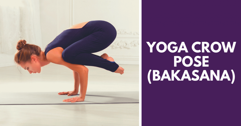 Yoga crow pose - Bakasana